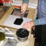 Preparazione dell'inchiostro
