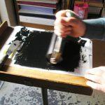 Inchiostrazione del rullo inchiostratore
