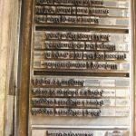 La forma di stampa inchiostrata