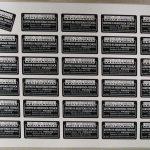 Etichette su PVC